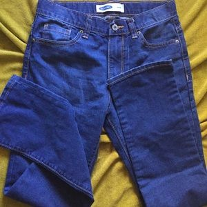 Old Navy Bottoms - OldNavy skinny Cut. True Blue Youth👖 , size14.